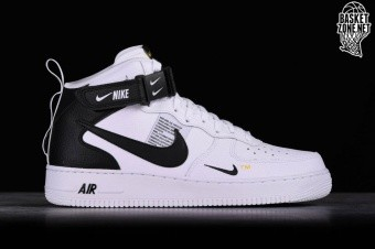 low priced 509d3 e3985 NIKE AIR FORCE 1 MID  07 LV8 UTILITY WHITE