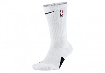 NIKE ELITE CREW - NBA SOCKS WHITE