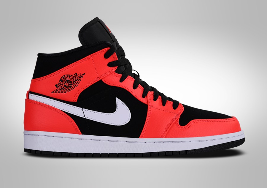 new product 2de9b 4e0da NIKE AIR JORDAN 1 RETRO MID INFRARED