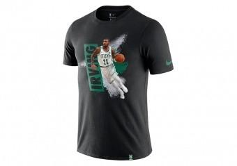 NIKE NBA BOSTON CELTICS KYRIE IRVING DRY TEE BLACK
