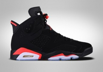 new style cb738 92a51 BASKETBALL SHOES. NIKE AIR JORDAN 6 RETRO BLACK INFRARED