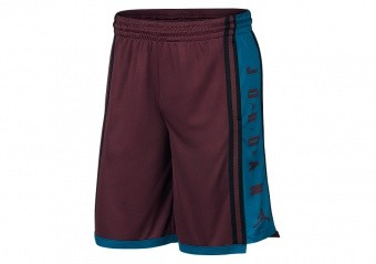 NIKE AIR JORDAN HBR BASKETBALL SHORTS NIGHT MAROON