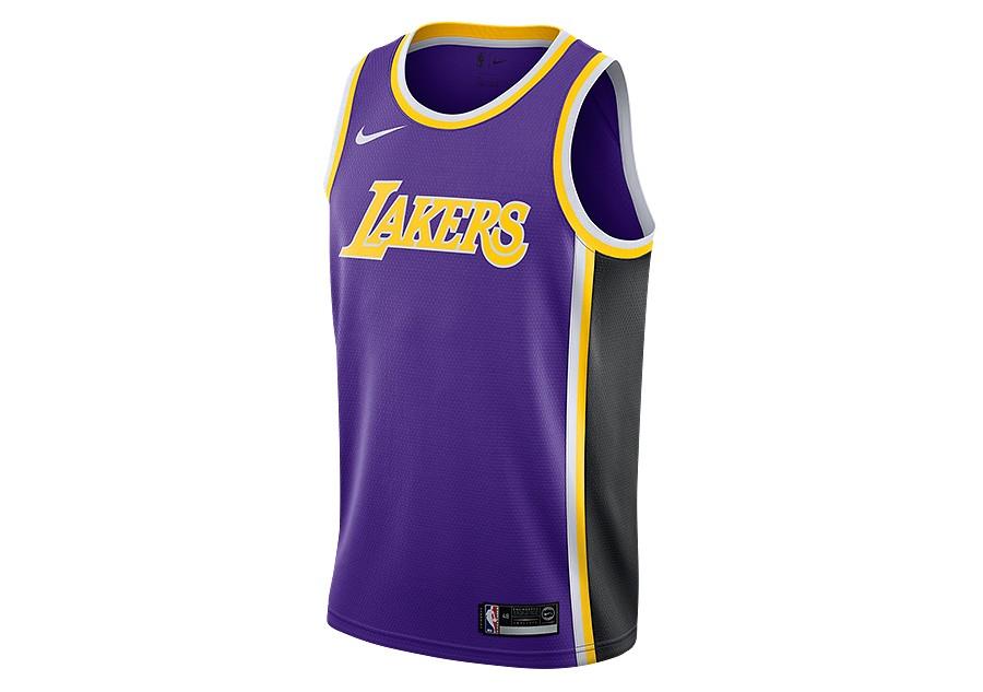 cc5f2f9dfa2f2 NIKE NBA LOS ANGELES LAKERS SWINGMAN JERSEY FIELD PURPLE pour €77,50 |  Basketzone.net