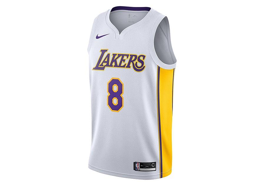 check out 79cca 70868 NIKE NBA LOS ANGELES LAKERS KOBE BRYANT SWINGMAN HOME JERSEY ...