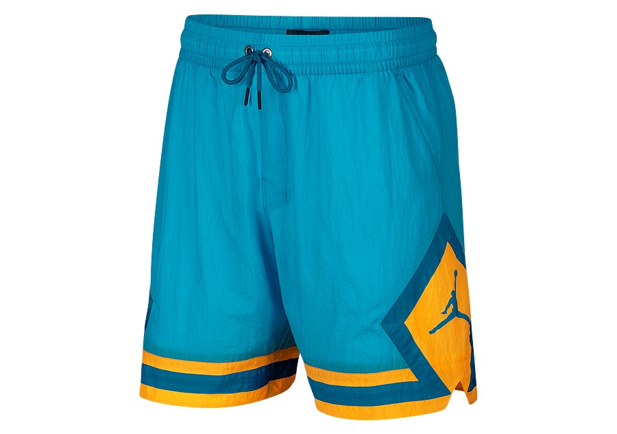 b2e2e97f36fe61 NIKE AIR JORDAN SPORTSWEAR DIAMOND POOLSIDE SHORTS LIGHT BLUE FURY price  €47.50
