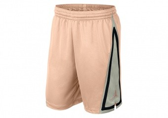 NIKE AIR JORDAN FRANCHISE SHORTS CRIMSON TINT