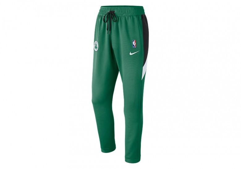 NIKE NBA BOSTON CELTICS THERMAFLEX SHOWTIME PANTS CLOVER