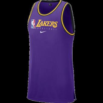 NIKE NBA LOS ANGELES LAKERS DRI-FIT TANK