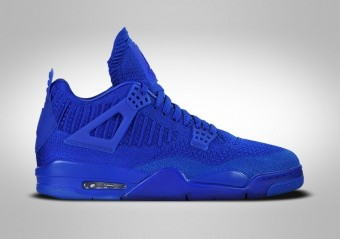 NIKE AIR JORDAN 4 RETRO FLYKNIT HYPER ROYAL