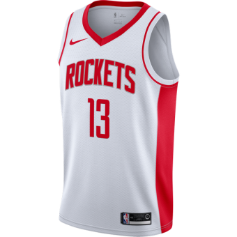 NIKE NBA HOUSTON ROCKETS JAMES HARDEN SWINGMAN HOME JERSEY
