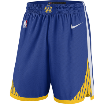 NIKE NBA GOLDEN STATE WARRIORS SWINGMAN ROAD SHORTS