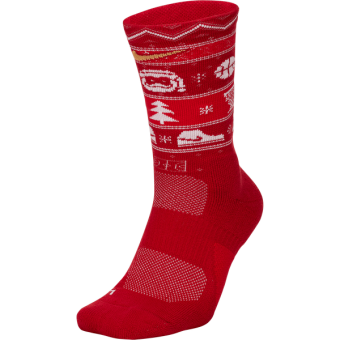 NIKE ELITE CREW-XMAS SOCKS
