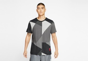 NIKE KYRIE IRVING DRI-FIT TEE LIGHT SMOKE GREY