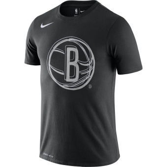 NIKE NBA BROOKLYN NETS LOGO DRI-FIT TEE