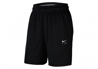 NIKE WOMEN'S FLY ESSENTIAL SHORTS BLACK