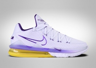 NIKE LEBRON 17 LOW LAKERS