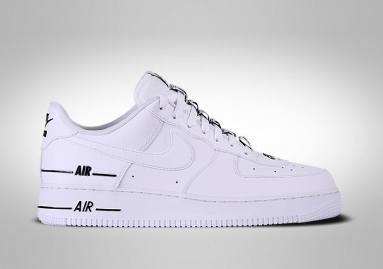 NIKE AIR FORCE 1 LOW '07 LV8 DOUBLE AIR WHITE BLACK price €102.50 ...