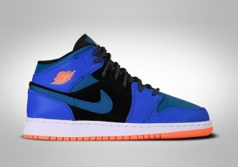 NIKE AIR JORDAN 1 RETRO MID GS RACER BLUE