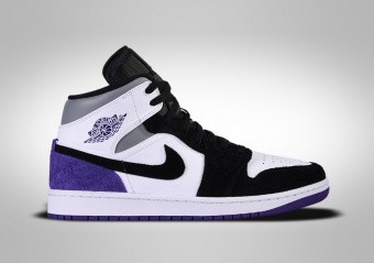 NIKE AIR JORDAN 1 RETRO MID SE GS COURT PURPLE