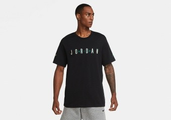 NIKE AIR JORDAN SPORT DNA CREW TEE BLACK