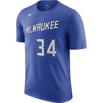 NIKE NBA MILWAUKEE BUCKS GIANNIS ANTETOKOUNMPO CITY EDITION TEE
