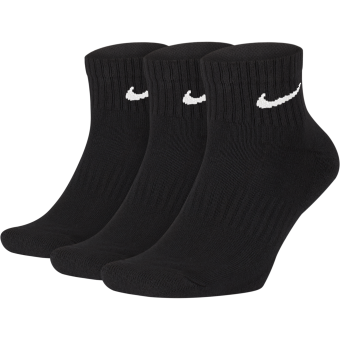 NIKE EVERYDAY CUSHIONED ANKLE SOCKS (3 PAIRS)