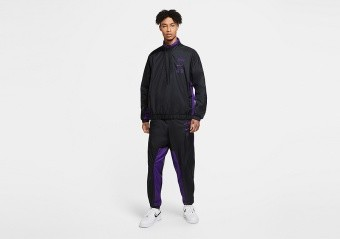 NIKE NBA LOS ANGELES LAKERS COURTSIDE TRACKSUIT BLACK