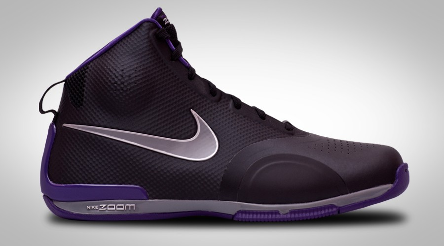 NIKE ZOOM BB 1.5 HYPERFUSE BLACK PURPLE