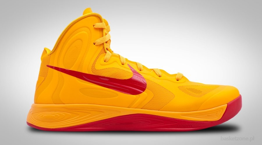 NIKE ZOOM HYPERFUSE 2012 UNIVERSITY GOLD RED