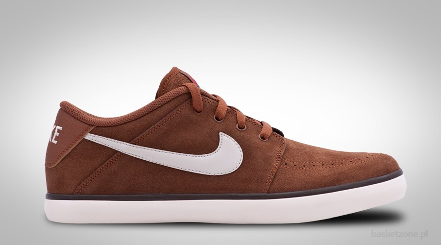 NIKE SUKETO LEATHER BROWN