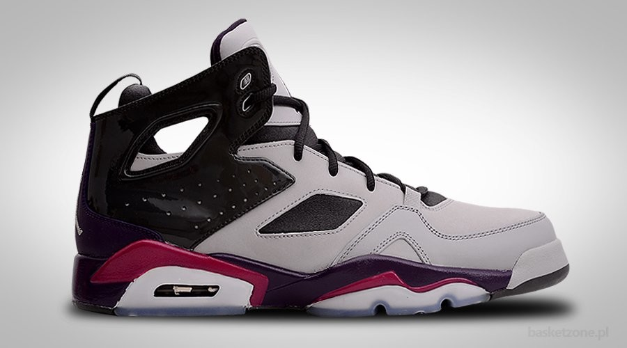 NIKE AIR JORDAN FLTCLB '91 GREY GRAND PURPLE