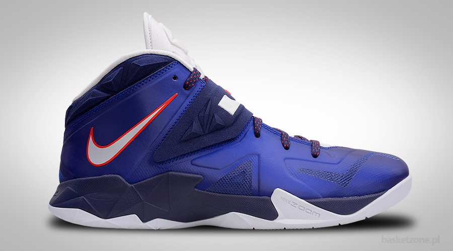 NIKE ZOOM LEBRON SOLDIER VII DEEP ROYAL BLUE
