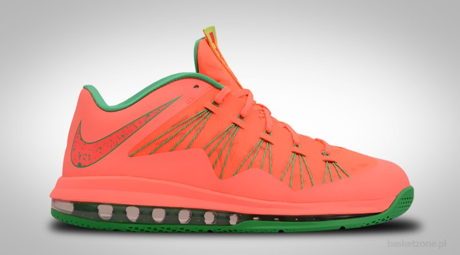 NIKE AIR MAX LEBRON X LOW WATERMELON