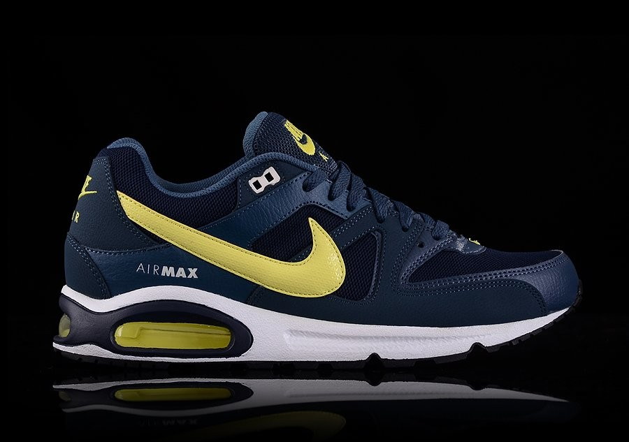 NIKE AIR MAX COMMAND OBSIDIAN ELECTRIC YELLOW