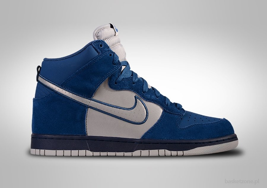 NIKE DUNK HIGH BRAVE BLUE REFLECTIVE SILVER