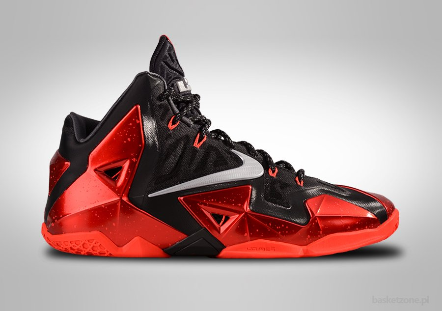 NIKE LEBRON XI MIAMI HEAT AWAY EDITION