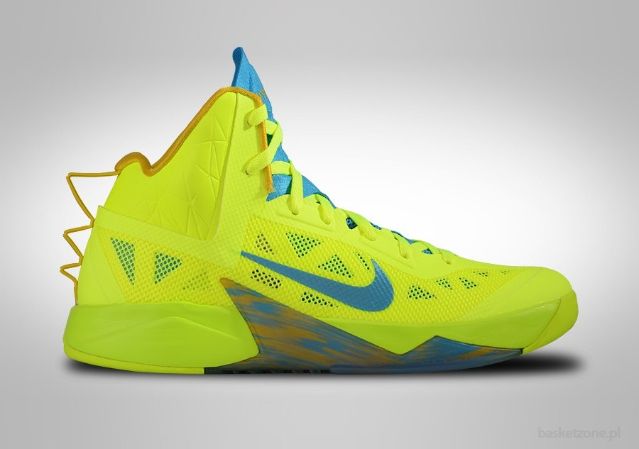 NIKE ZOOM HYPERFUSE 2013 VOLT VIVID BLUE