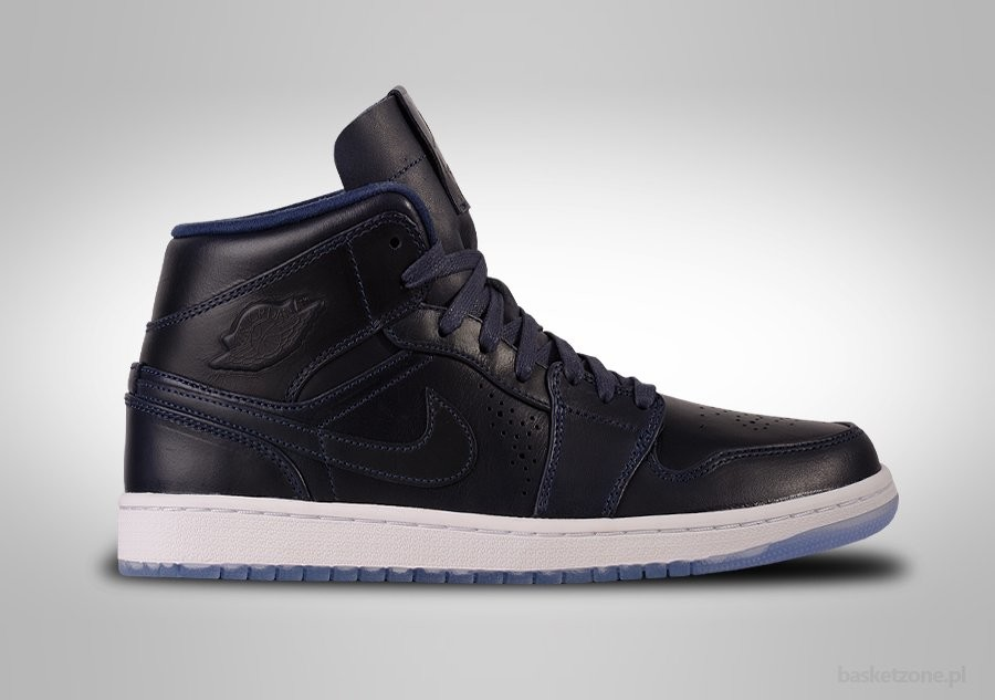 NIKE AIR JORDAN 1 RETRO MID NOUVEAU MIDNIGHT NAVY ICE