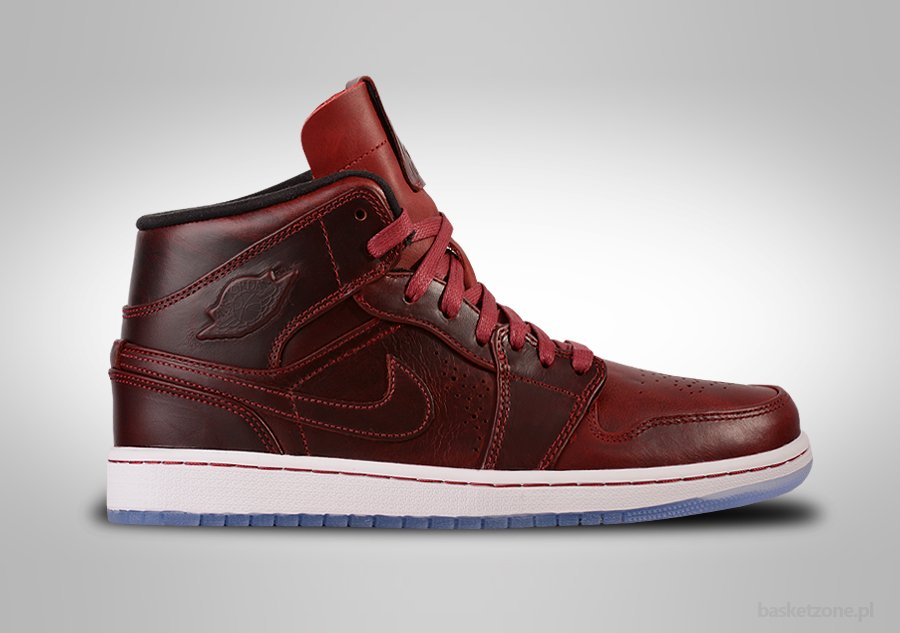 NIKE AIR JORDAN 1 RETRO MID NOUVEAU TEAM RED