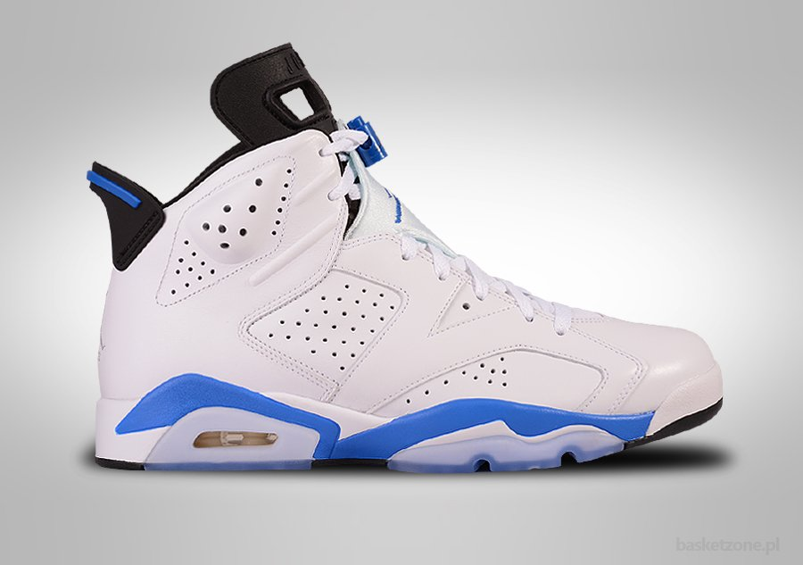 NIKE AIR JORDAN 6 RETRO SPORT BLUE