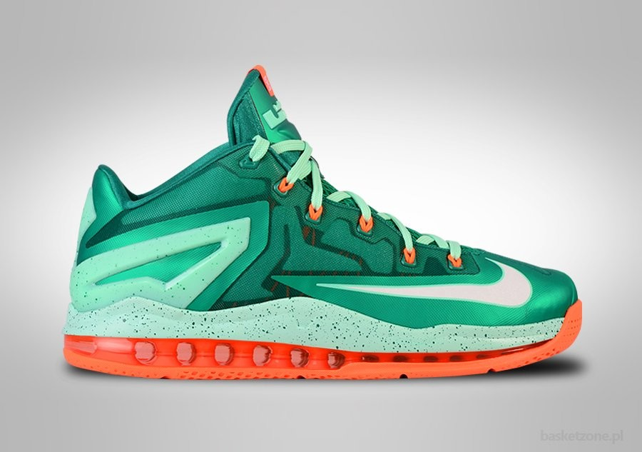 NIKE LEBRON XI LOW MYSTIC GREEN