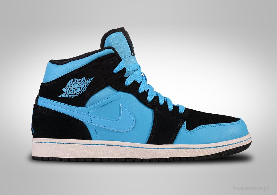 NIKE AIR JORDAN 1 RETRO MID POWDER BLUE