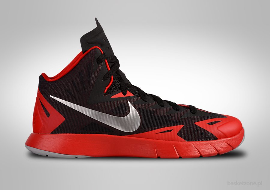 NIKE LUNAR HYPERQUICKNESS UNIVERSITY RED
