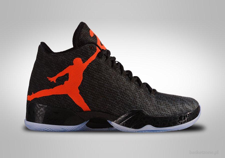 Nike Air Jordan Black And Orange