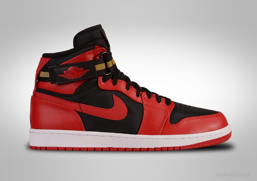 NIKE AIR JORDAN 1 HIGH STRAP BRED