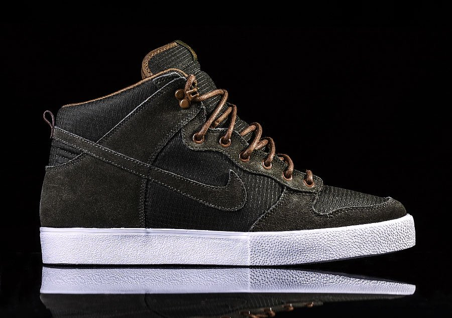 NIKE DUNK HIGH SEQUOIA DARK KHAKI
