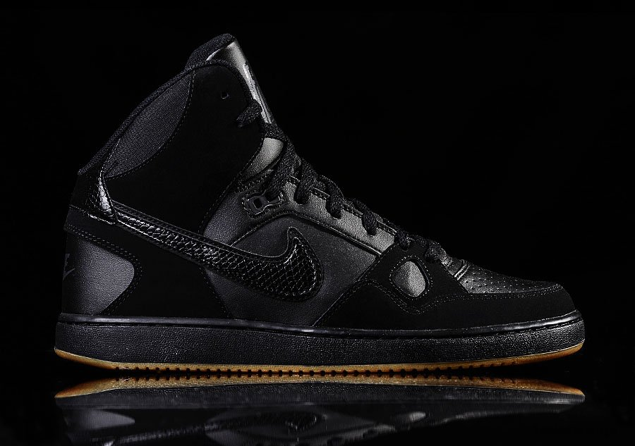 NIKE SON OF FORCE MID BLACK GUM