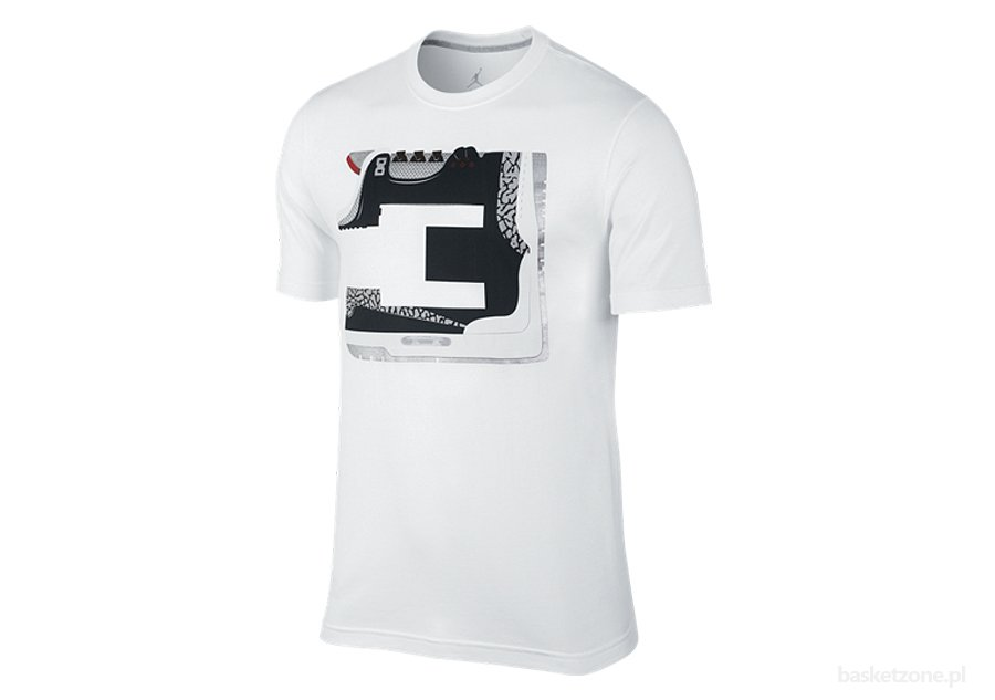 NIKE AIR JORDAN 3 NUMBERS GAME TEE