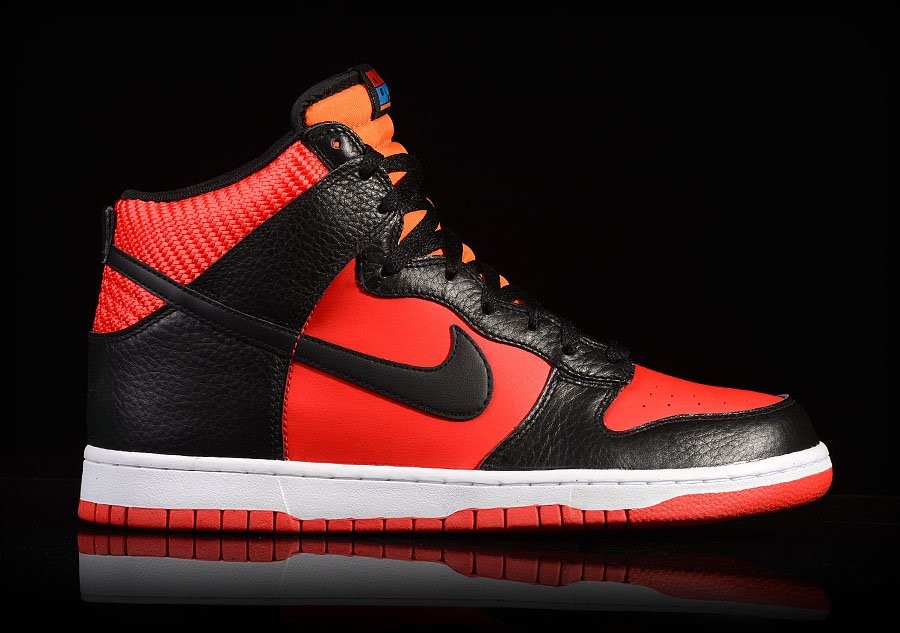 NIKE DUNK HIGH CHALLENGE RED BLACK