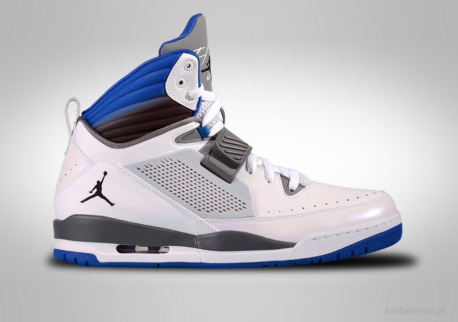 NIKE AIR JORDAN FLIGHT '97 WHITE SPORT BLUE